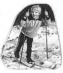 Nachwuchs der Sektion Ski
