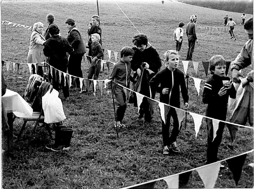 Crosswettkampf Zieleinlauf